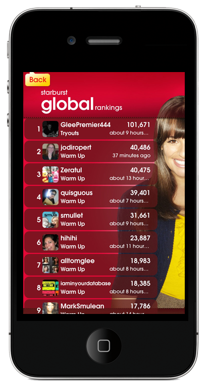 Listen to singers around the world on the Smule Glee Globe