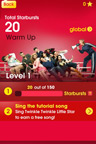 Join and sing with other singers with Glee for iPhone and iPad